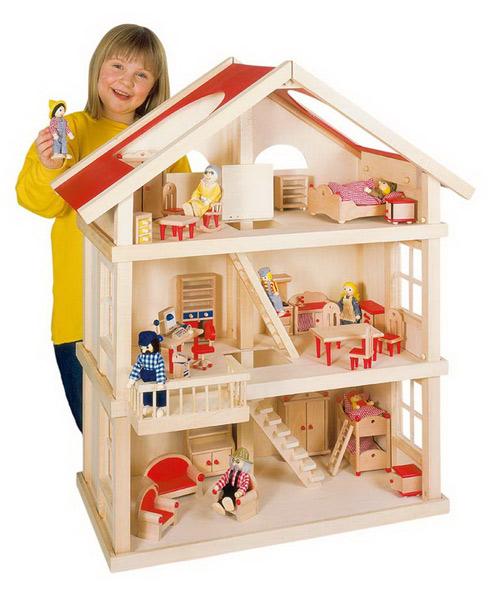 Игрушки кукольные домики своими руками