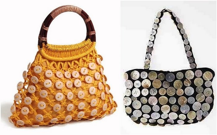 Как сделать украшения на сумку своими руками