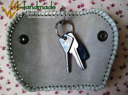 Карманную ключницу своими руками